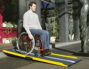 Rollstuhlrampen