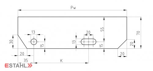 Design Treppenstufen 800x270 mm