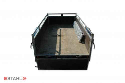1 pair of light-weight construction ramps, straight model