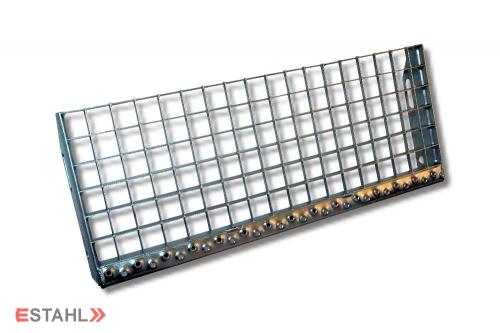 Gitterroststufe 700 x 305 mm 30/30