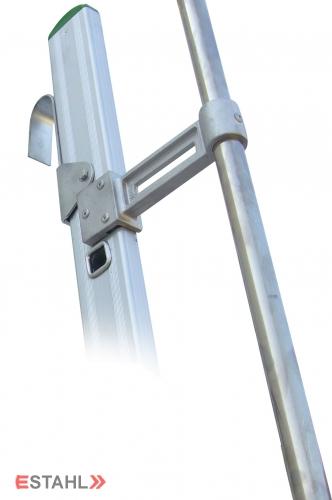 Aluminium Einhängeleiter - Geschosshöhe 1450 mm