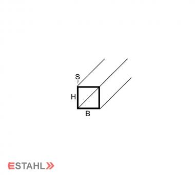 Vierkantrohr 50 x 50 x 4 mm