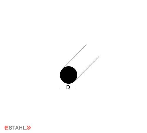 Rundprofil - Durchmesser 12 mm