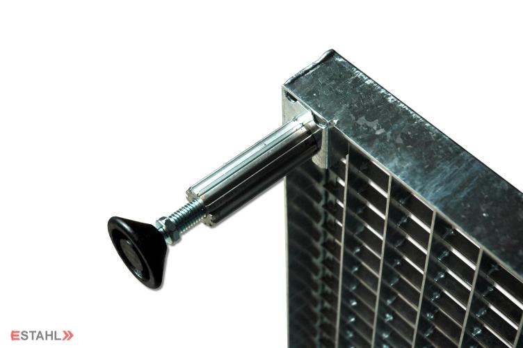 Hohenverstellbares Gitterrost Von E Stahl