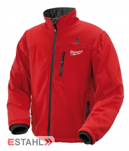 Milwaukee Thermojacke Größe XL in rot