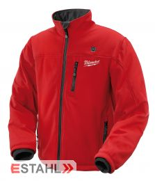 Milwaukee Thermojacke Größe L in rot