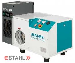 Schraubenkompressor mit angebautem Kältetrockner Modell RSK-B 11,0