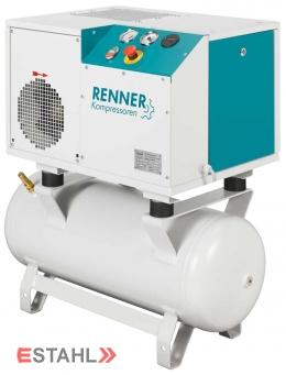 Schraubenkompressor RSD-B 5,5 mit 90 Liter Druckluftbehälter