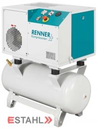 Schraubenkompressor RSD-B 2,2 mit 90 Liter Druckluftbehälter