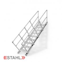 Aluminium Geländerpaket - einseitig
