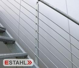 Geländerpaket für Bausatztreppe  mit bis zu 13 Stufen
