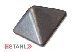 Pfostenkappe aus Aluminium 104 x 104 mm