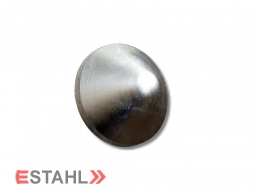 Pfostenkappe aus Aluminium - rund - 110 mm