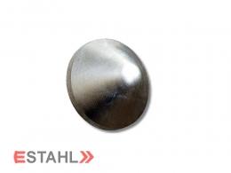 Pfostenkappe aus Aluminium - rund - 225 mm