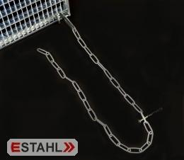 Sicherungskette mit Haken - verzinkt