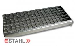 Aluminium Treppenstufe 1200 x 235 mm