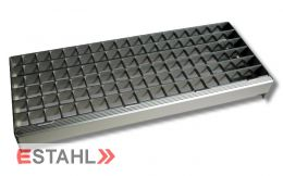 Aluminium Treppenstufe 1200 x 270 mm