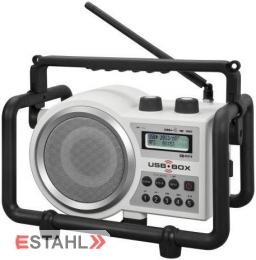 Usbbox Baustellenradio