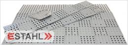 Kit 103S; Türstufenrampe bis zu 11,4 cm (100cm) mit Slip Stop
