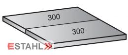 Boden Modul 800 mm x 600 mm Standard verzinkt