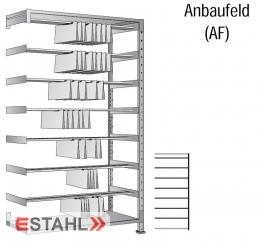 Pendelregistratur Doppelregal 800mm x 700mm x 2280mm verzinkt