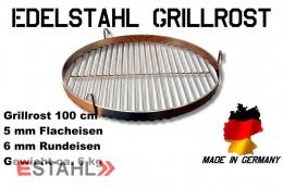 Edelstahl Grillrost in 100 cm Durchmesser