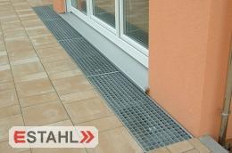 Terrassengitterrost - Sonderanfertigung