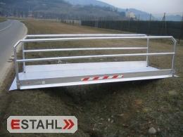 Grabenbrücke, Länge 6060 mm,  Innenbreite 1250 mm