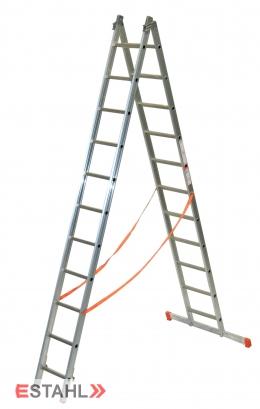 Sprossen-Allzweckleiter, 2 x 9 Sprossen