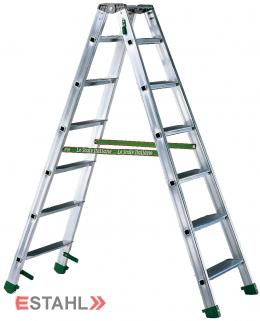 Stufenstehleiter, 2 x 6 Stufen