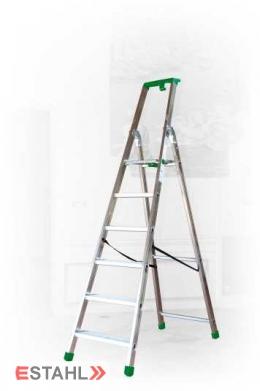 Stufenstehleiter, 8 Stufen