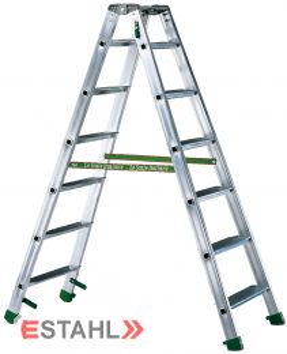 Stufenstehleiter, 2 x 7 Stufen