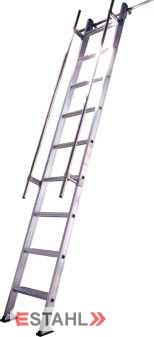 Regaleinhängeleiter, 19 Stufen