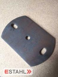 Ankerplatte aus Stahl