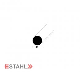 Rundprofil - Durchmesser 15 mm