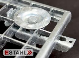 Halteklammer für 30/30 mm - Maschenweite