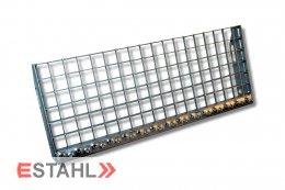 Gitterroststufe 800 x 240 mm 30/30