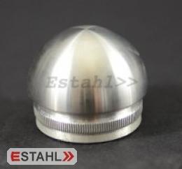 Edelstahlendkappe für Handlauf Ø 42,4 mm