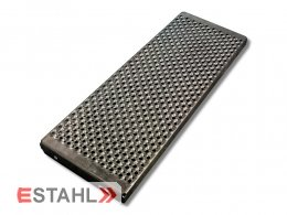 V2A-Sicherheitsstufe 800 x 250 x 45 mm